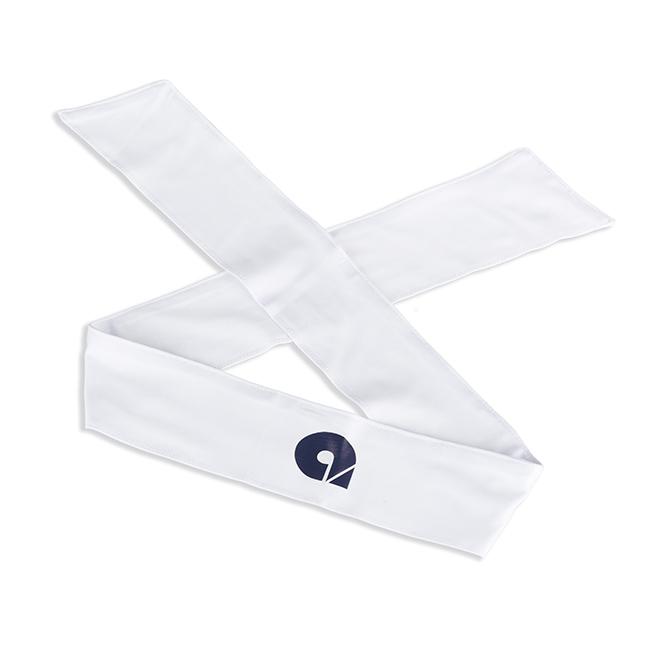 cinta de sudor blanca