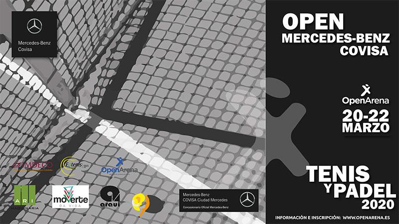 cartel torneo de tenis